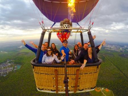 Hot Balloon Adventure Experience