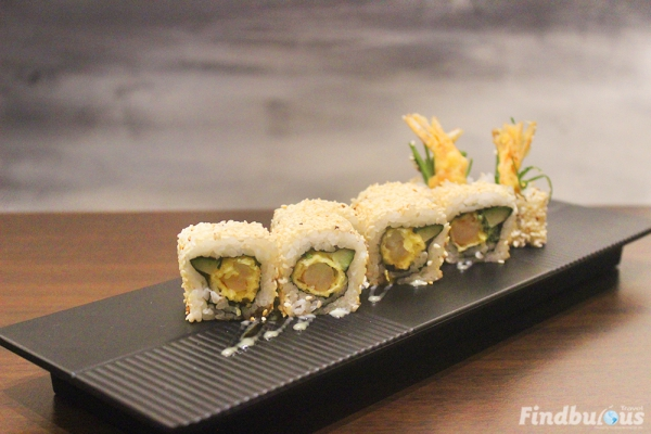 RM1 Tempura Maki for minimum spending RM80 on Otaru