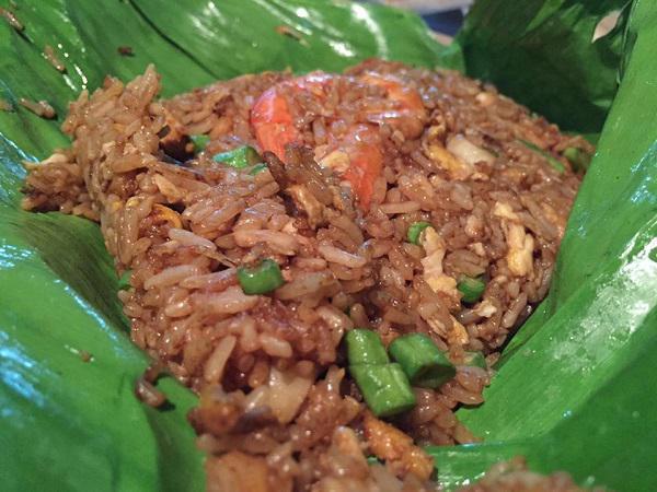 Seafood Nasi Goreng Daun Pisang Stall Johor Bahru