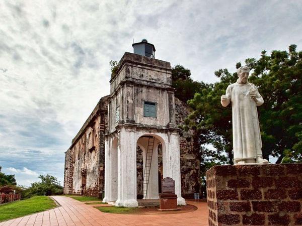 St. Paul's Church - Historical place - Melaka | TravelMalaysia